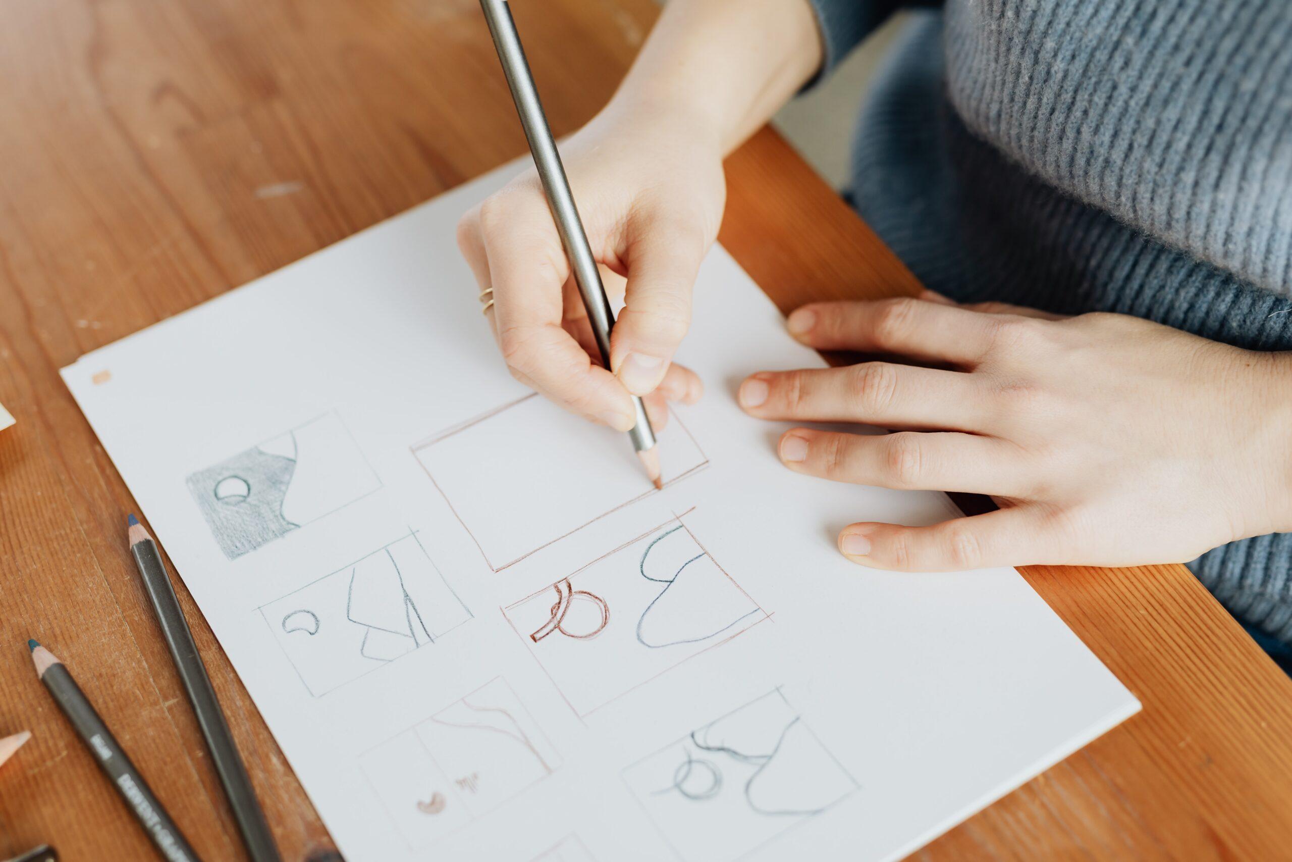 Progettare: dal lampo di scrittura alla bozza